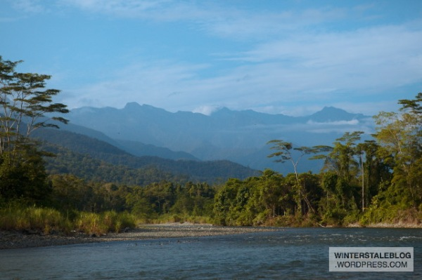 Reaching the Jae River was a wonderful release from a pretty terrible stretch of lowland jungle just before we got there.